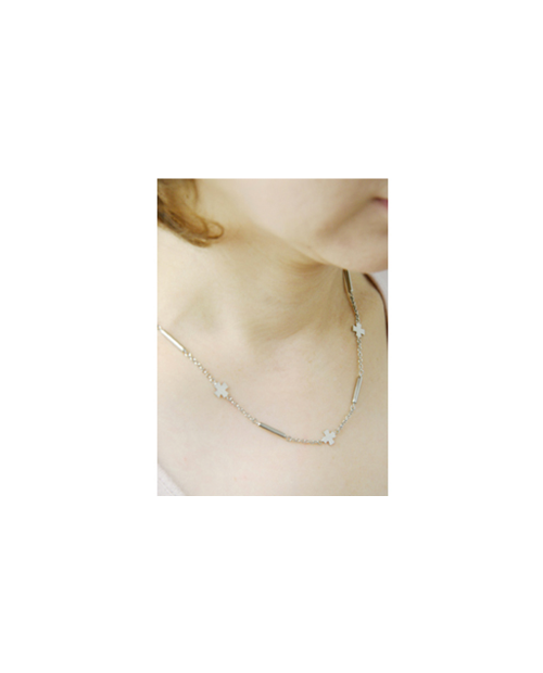【Domestic pure titanium】 Negative ion necklace cross 【Horie / H-CT-I203】
