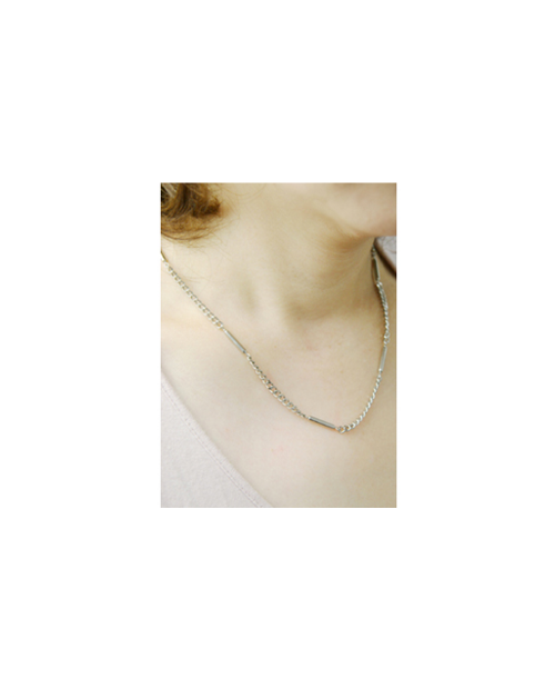 【Domestic pure titanium】 Negative ion necklace Kihei 【Horie / H-CT-I205】