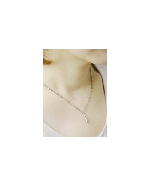 Domestic pure titanium necklace drop 【Horie / H-CT-N002】