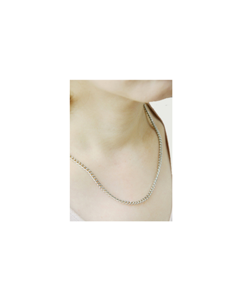Domestic pure titanium necklace Kihei [Horie / H-CT-N004]