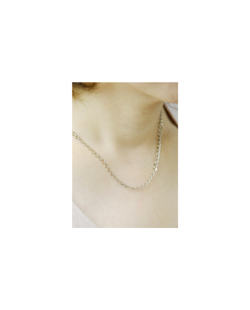 Domestic pure titanium necklace Arame 【Horie / H-CT-N005】