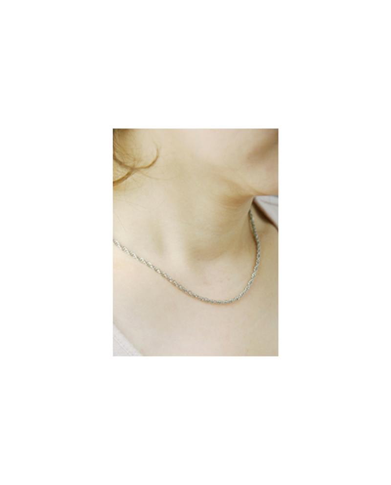 国産純チタンネックレス ロープ【Horie/H-CT-N006】