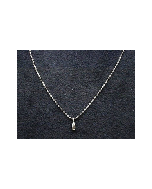 Domestic pure titanium necklace ball chain (spring ball) [Horie / H-CT-N102]