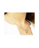Domestic pure titanium necklace horseshoe [Horie / H-CT-N509SR]