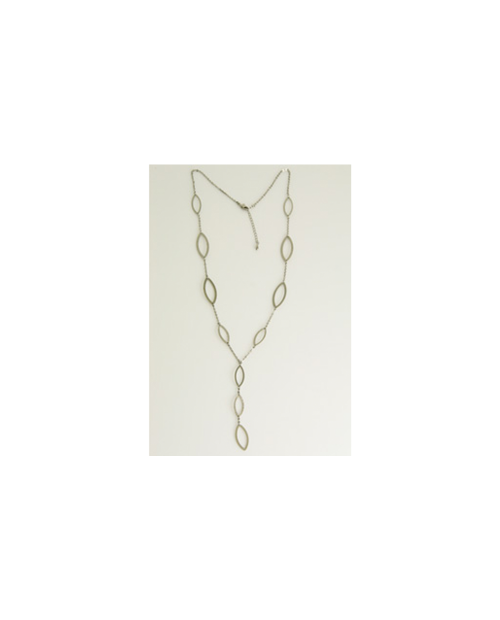 Domestic pure titanium long necklace seed Y [Horie / H-CT-N604]