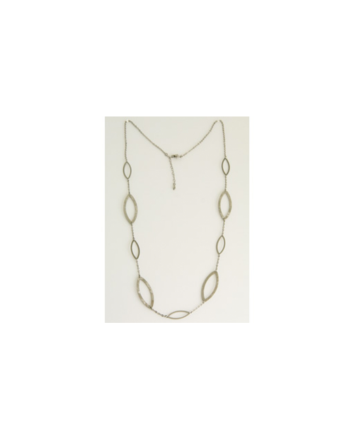 Domestic pure titanium long necklace seed S [Horie / H-CT-N605]
