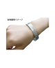 Domestic Pure Titanium Bracelet [Bangle Type] Amulet Breath [Horie / H-TB-01]
