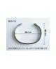 Domestic Pure Titanium Bracelet [Bangle Type] Horse Bless [Horie / H-TB-04]
