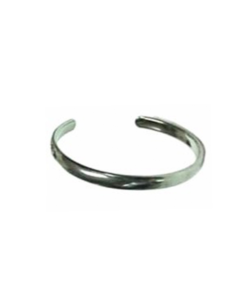 Domestic Pure Titanium Bracelet [Bangle Type] Slim Ring Bless [Horie / H-TB-05]