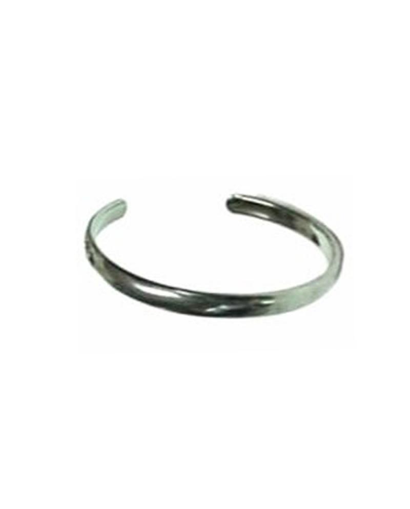 Domestic Pure Titanium Bracelet [Bangle Type] Slim Ring Bless [Horie / H-TB-05]