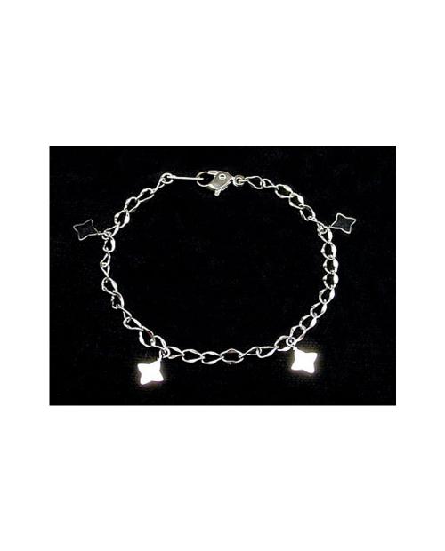 Domestic pure titanium bracelet Hana (Arame) [Horie / H-TBT906]