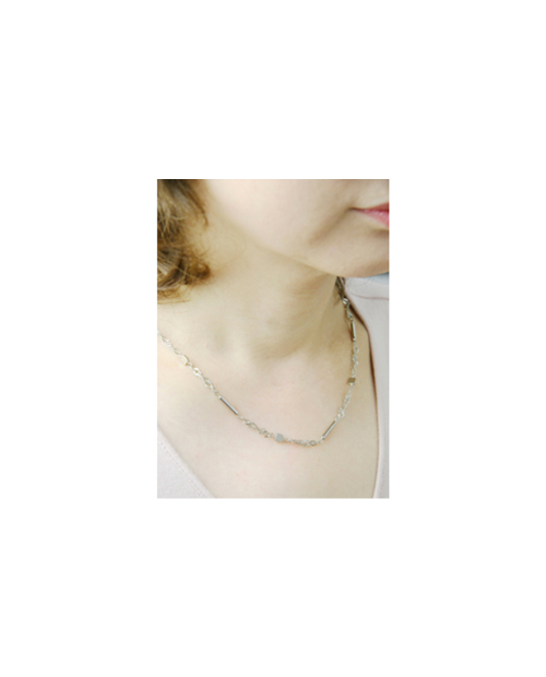 [Domestic pure titanium] magnetic necklace cube [Horie / H-TMN61-1]