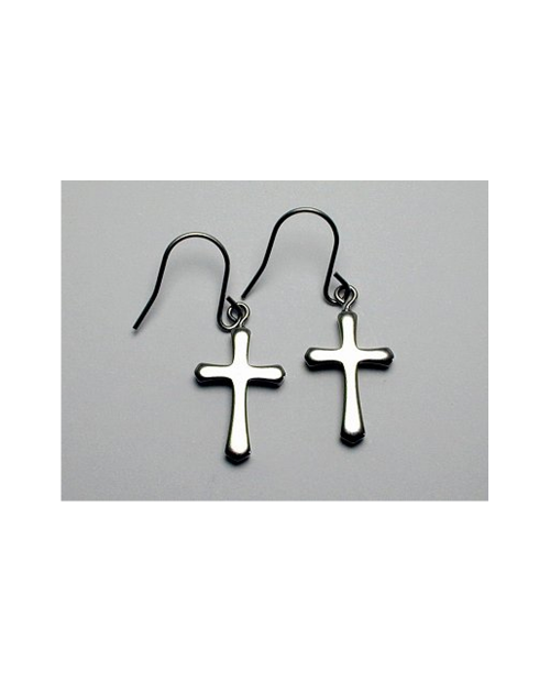 Domestic Pure Titanium Hook Earrings Cloth 12 colors available [Horie / H-TP722]