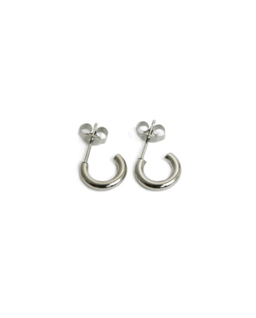 Domestic pure titanium earrings G ring 2 × 10 ☆ 12 colors [Horie / H-TP7540]