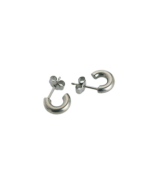 Domestic pure titanium earrings G ring 3 × 10 ☆ 12 colors [Horie / H-TP7550]