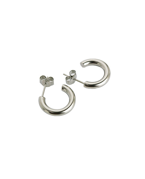 Domestic pure titanium earrings G ring 3 × 15 ☆ 12 colors [Horie / H-TP7551]