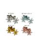 国産純チタンピアス 雪D☆4色展開【Horie/H-TP700D】